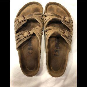 Birkenstock Granada soft soles women's 10.